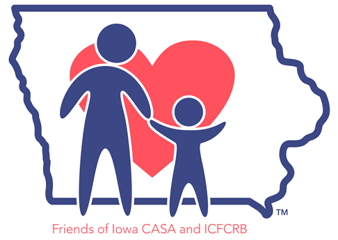 Friend of Iowa CASA logo